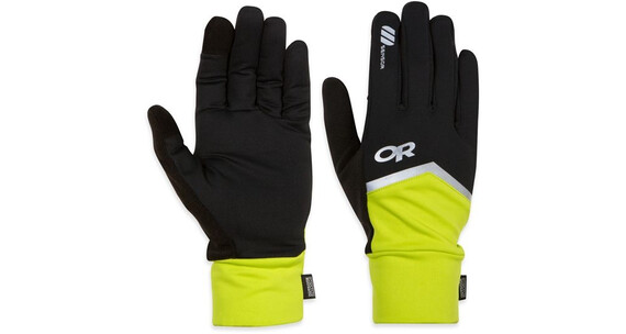Outdoor Research Speed Sensor Gloves Black/Lemongrass (151)